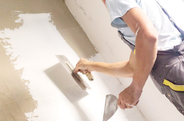 plastering contracting Bedford