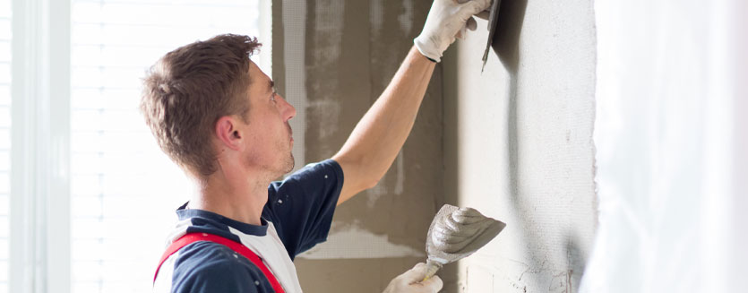 Plastering and External Rendering Services in Riseley